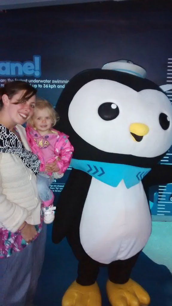 Octonauts at the National Sealife Centre Birmingham
