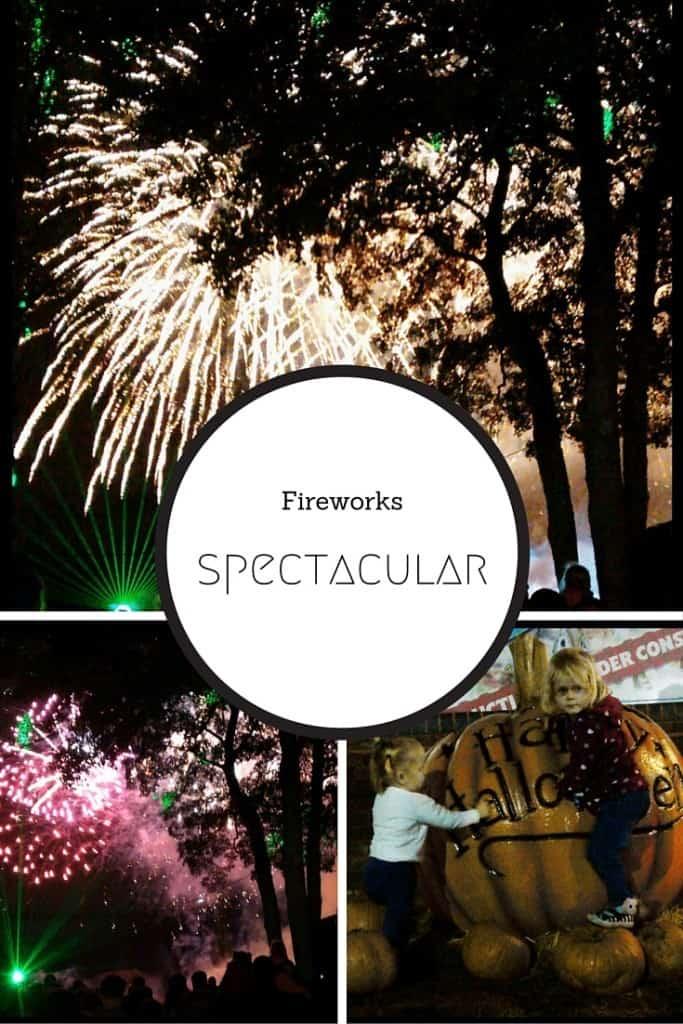 Drayton Manor War of the Worlds Fireworks