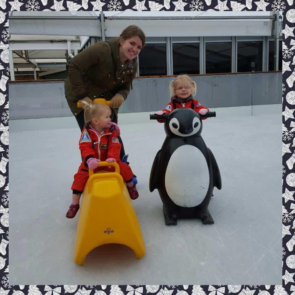Ice skating Webbs Wychbold