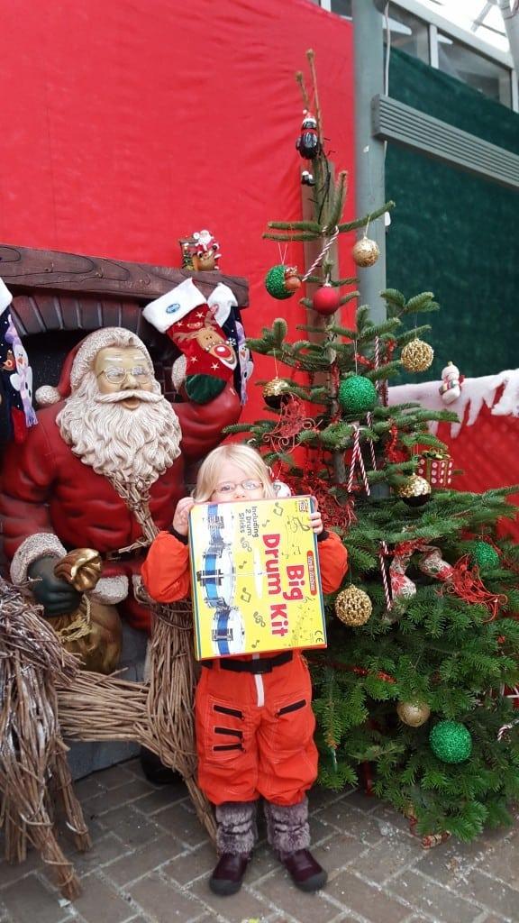 Christmas Grotto Webbs Garden Centre 2015