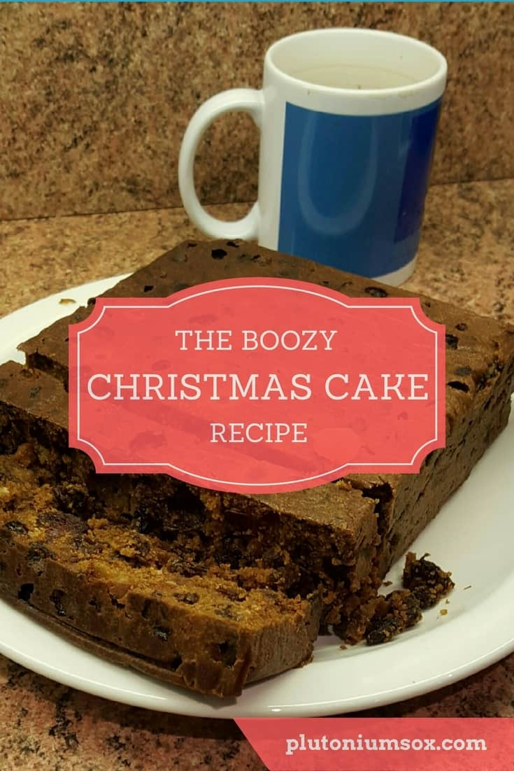Christmas cake recipe | If you are making a Christmas cake this year, it's time to think about soaking the fruit. The longer you soak your Christmas cake fruit for, the better your fruit cake will taste. Stand by for a touch of humour and plenty of brandy in this boozy Christmas cake recipe.