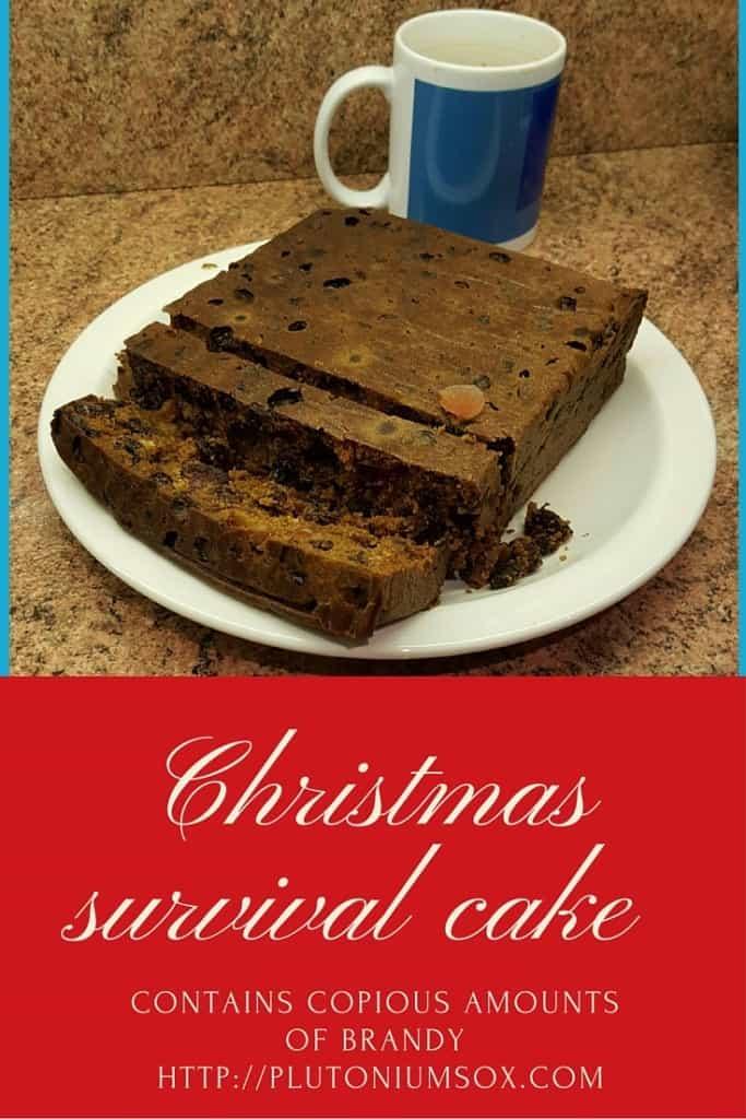 Simple Christmas survival cake recipe