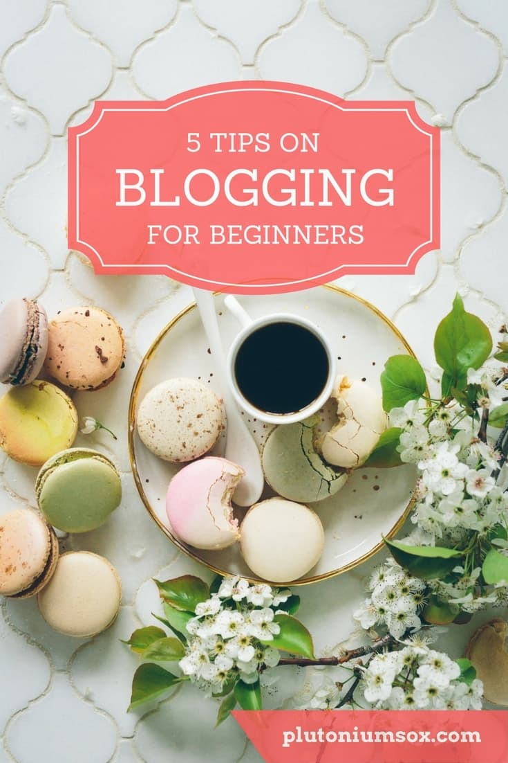 Blogging - the beginner's guide to starting a blog | If you are a new blogger or thinking of starting a blog, here are five tips to get you started. The best ways to promote your content, meet other bloggers, use social media to promote your blog and get ready to work with brands.