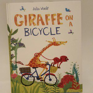 Books for young children: Review - Giraffe on a Bicycle