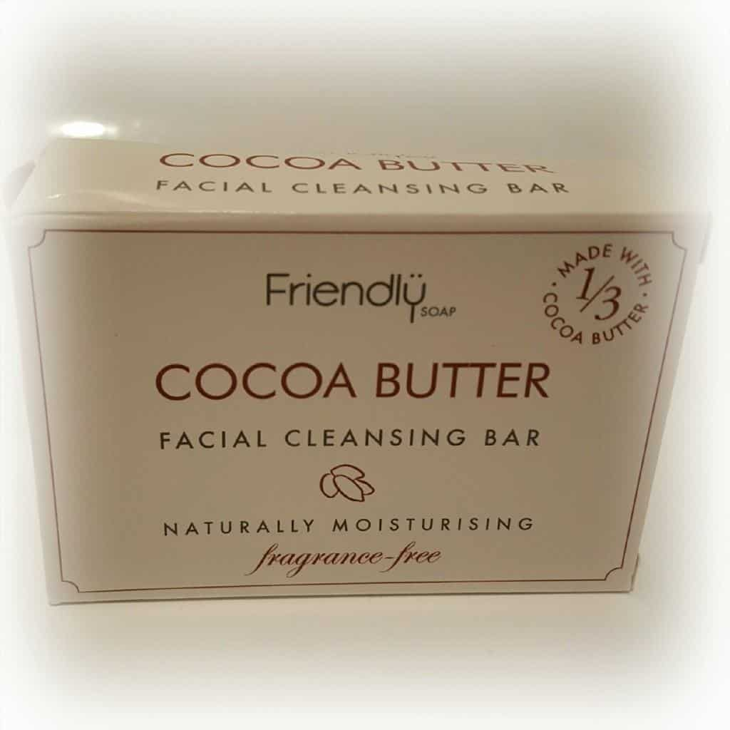 Palm Oil Free Product Recommendations #2 - Friendly Soap Cocoa Butter Cleansing Bar