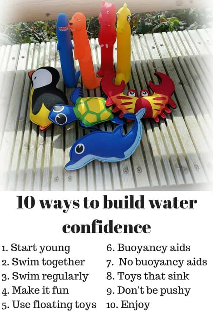 Learning to swim at a young age will ensure that children are safe around water and open up a world of sporting opportunities. 10 tips for parents looking to build water confidence in young children.
