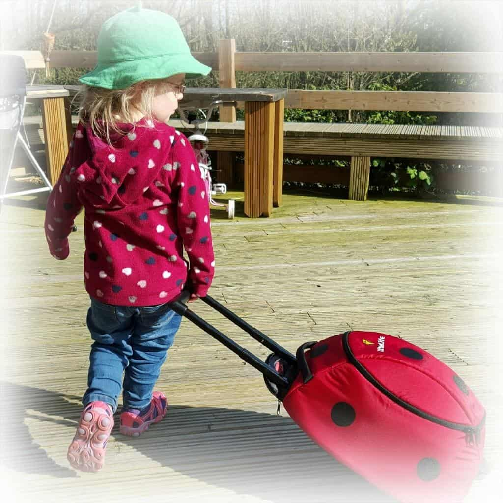 LittleLife Wheelie Duffle: Review - ladybird suitcase