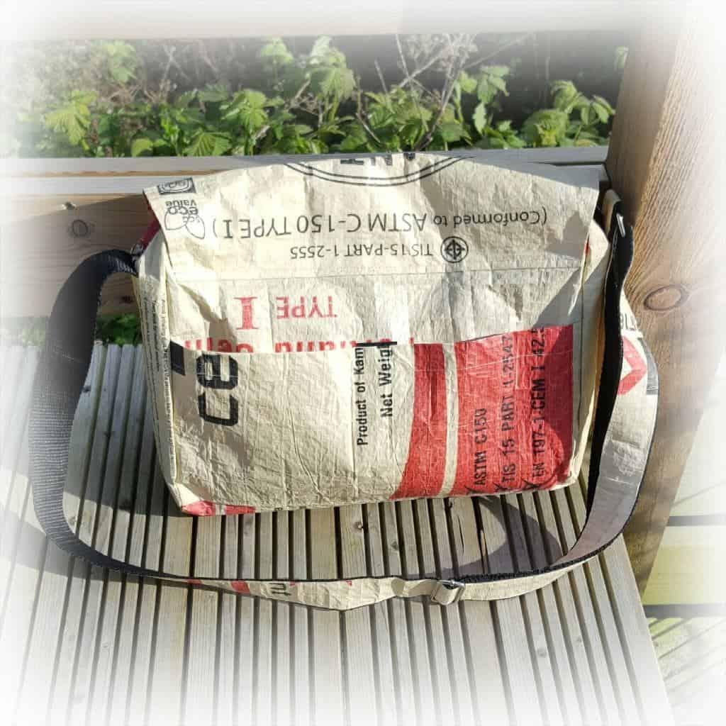 Friday Feature #13: Eighteen Rabbit Fair Trade - elephant cement messenger bag