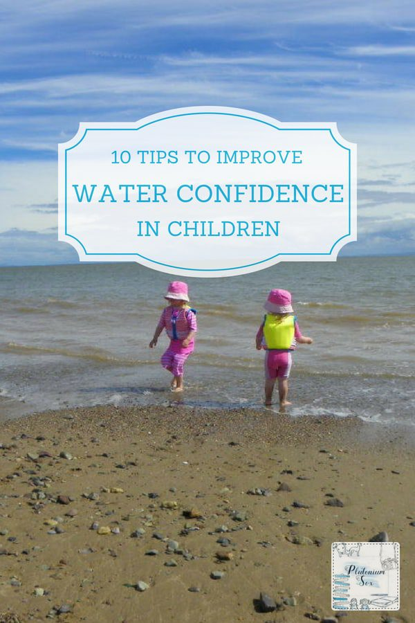 Water confidence for children | Swimming can seem like a frightening concept for a child who is afraid of the water. For parents looking to teach the nervous child to swim, it can be both worrying and frustrating. Here are some fun tips for improving water confidence. It's not one size fits all, so please do adapt my suggestions to your child's own learning style and your teaching method. #swimming #children #outdoorfun #waterconfidence #summerfun #poolswimming #openwater #toddlers #babies