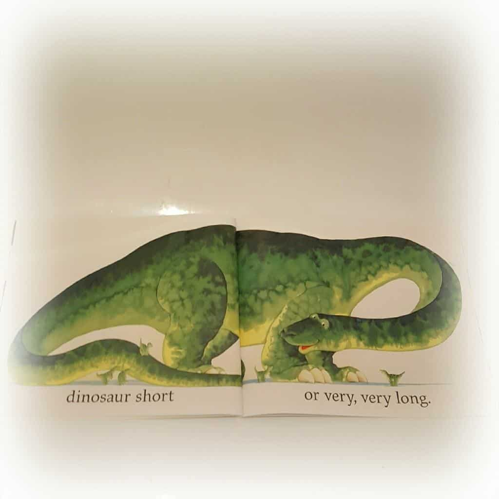 Dinosaur Roar Book Review - a children's paperback book