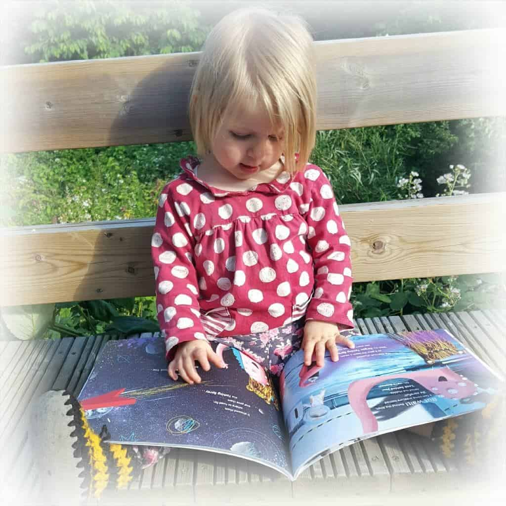 Review of the personalised story book - The Incredible Intergalactic Journey Home
