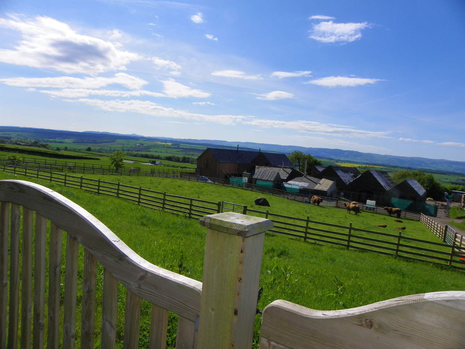 A luxury self-catering holiday at Blairmore Farm in Perth and Kinross, Scotland