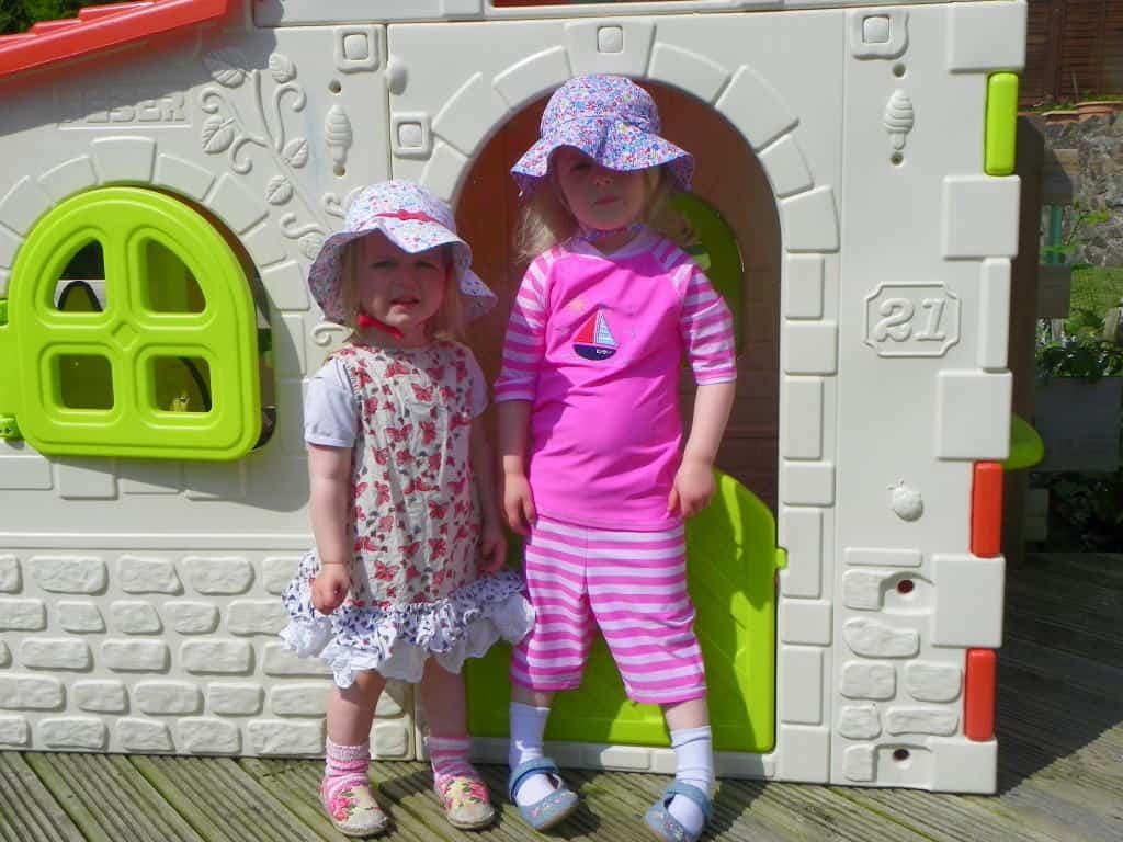 A review of Jojo Maman Bebe sun protection clothing