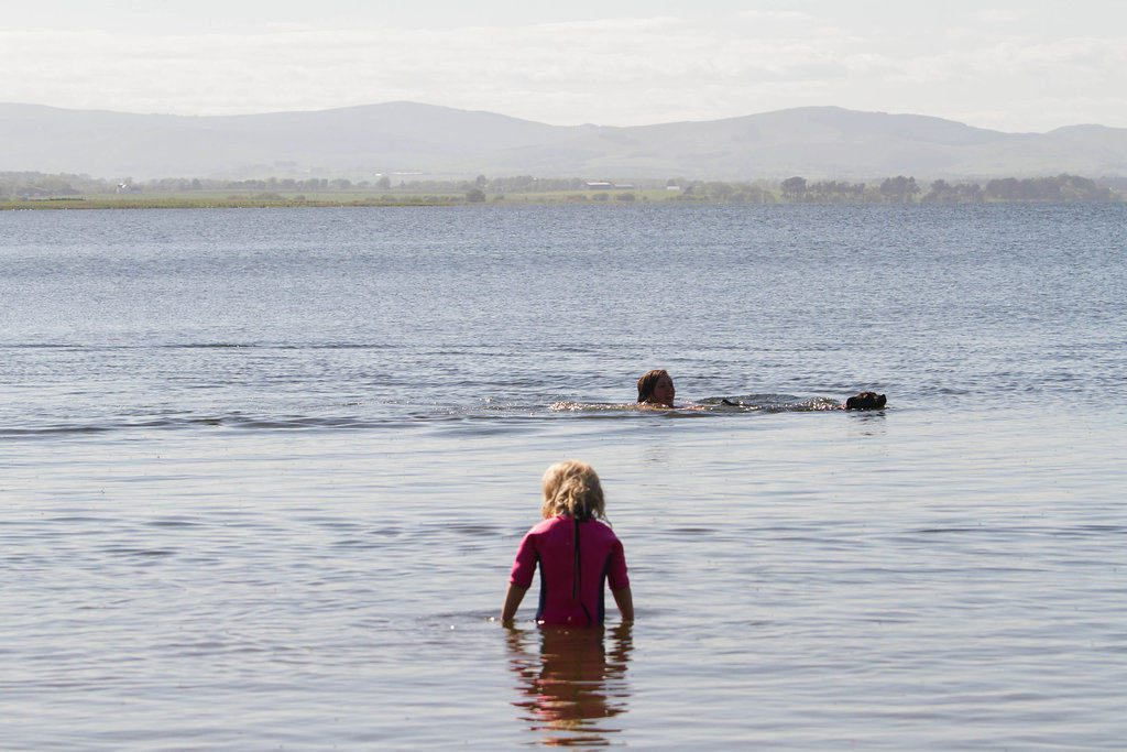 Konfidence swim jackets at Alton Towers waterpark