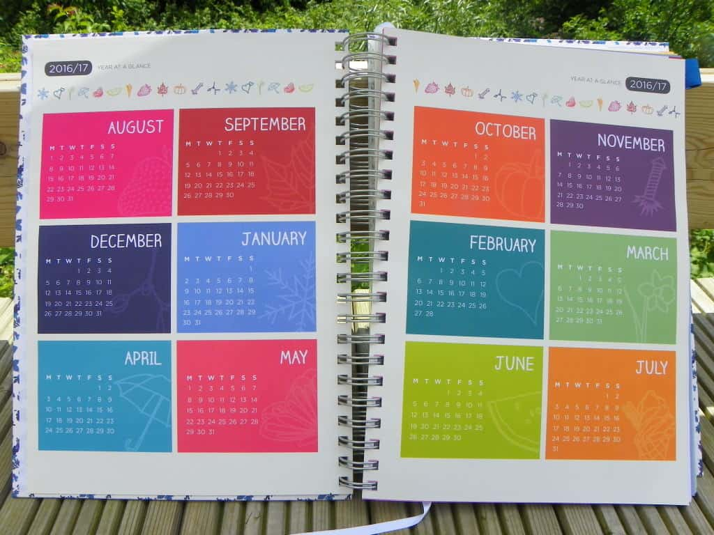 Pirongs A4 Academic Teachers/' Planner 6 Lesson Day Edition 37 Cover Designs