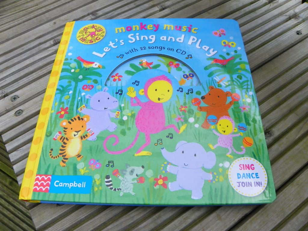 Monkey Music Lets Sing and Play Book Review
