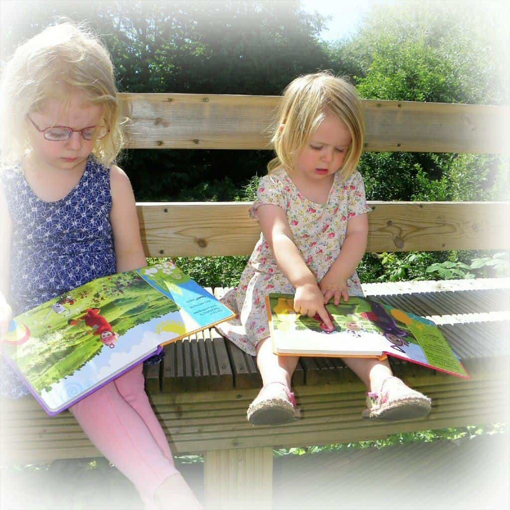 A developing love of books - preparing for school with education books from The Works