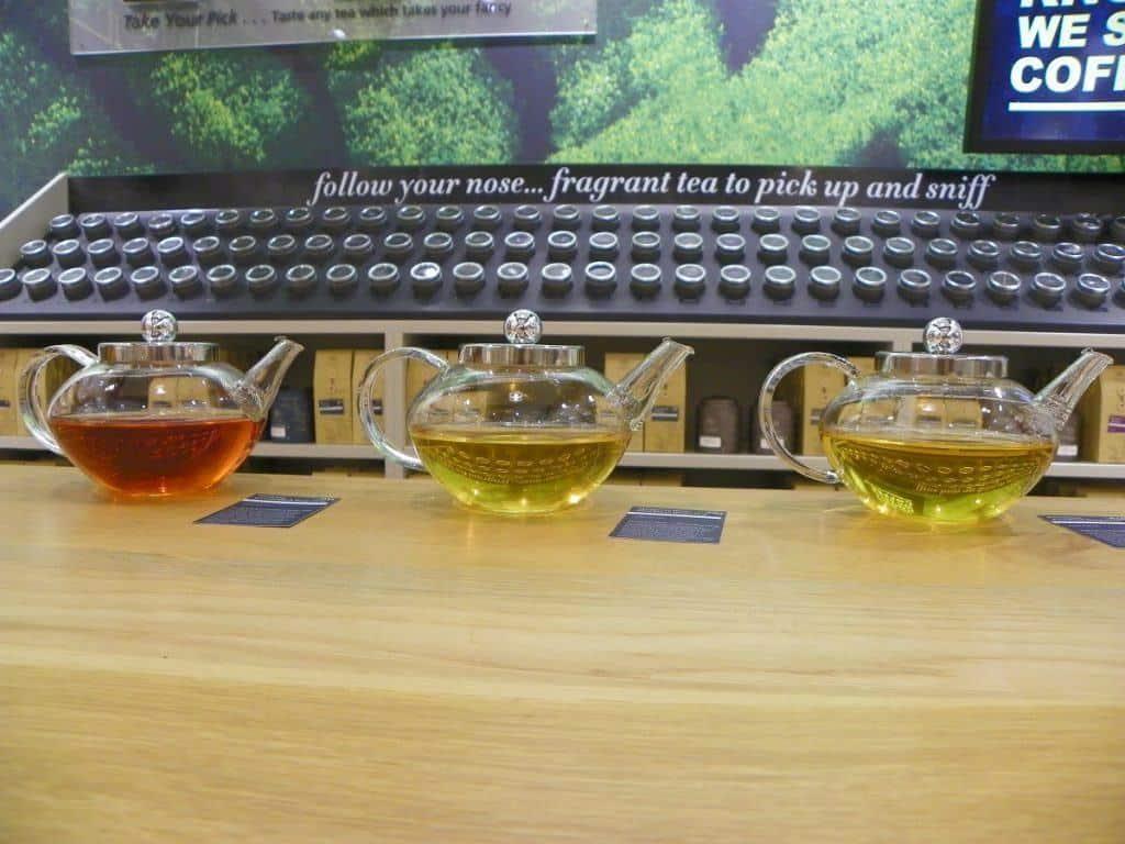 Tea Tasting at Whittards in Grand Central Birmingham