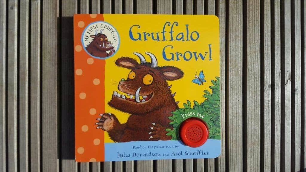 New Gruffalo books - Gruffalo Crumble and Other Recipes, Gruffalo Growl and The Gruffalo Puppet Book