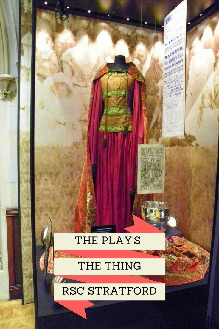 The Play's The Thing at the Royal Shakespeare Company in Stratford is an interactive museum and exhibition of all things Shakespeare. It features original costumes from both theatre and film productions of the works of Shakespeare. Based at the RSC in Stratford in the West Midlands, this is a great day out for all the family.