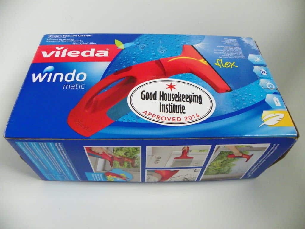 Vileda Windomatic Window Vacuum Cleaner Review
