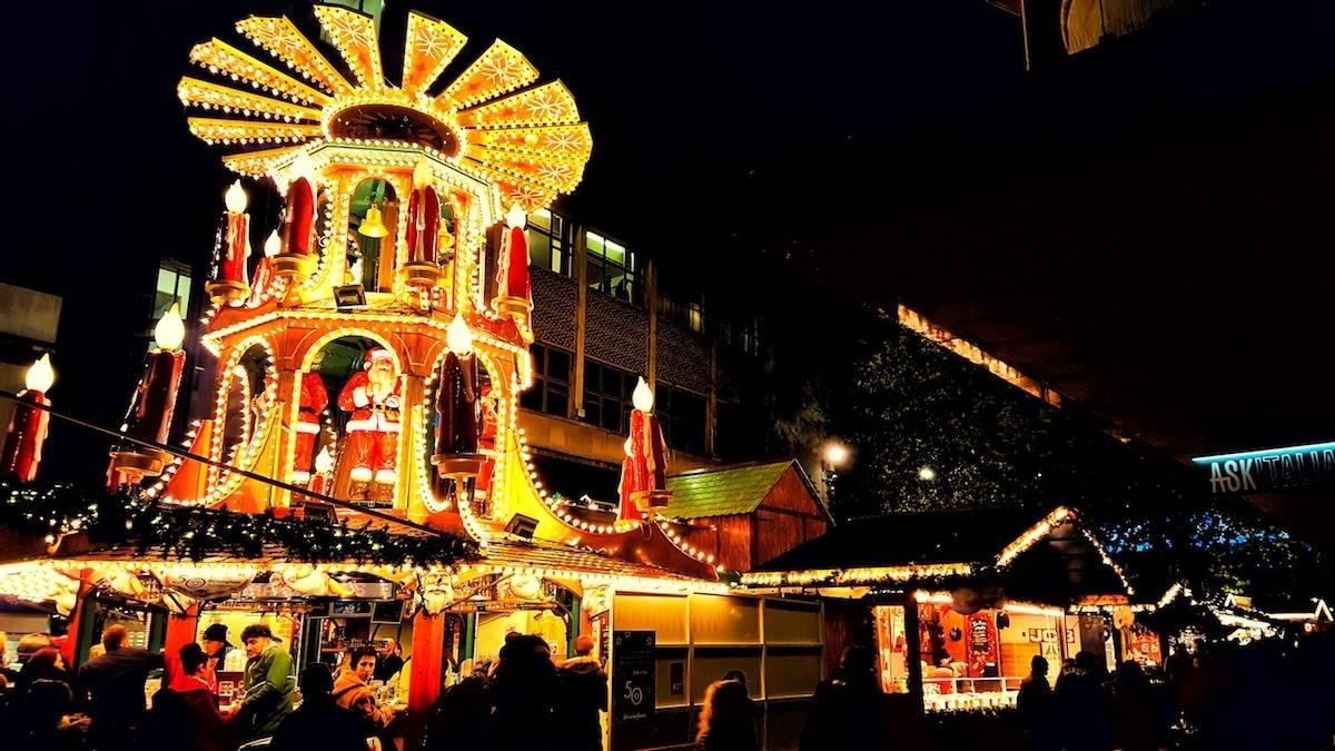 West Midlands Christmas days out 2018 Frankfurt Christmas Market Birmingham