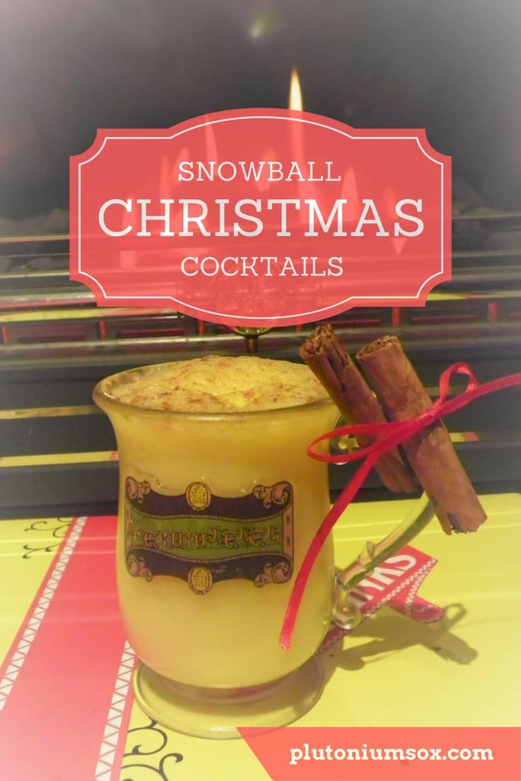 Snowball Christmas Cocktails | If you are looking to capture the Christmas spirit this festive season, you will love these Christmassy cocktails made with Warninks advocaat. The perfect cocktail for a Christmas party or get-together. Enjoy in front of the fire, preferably paired with a Christmas jumper.