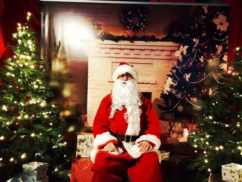 National Sea Life Centre Birmingham Meet Santa