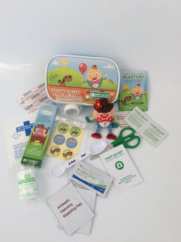 Yellodoor Child's First Aid Kit Review and Giveaway