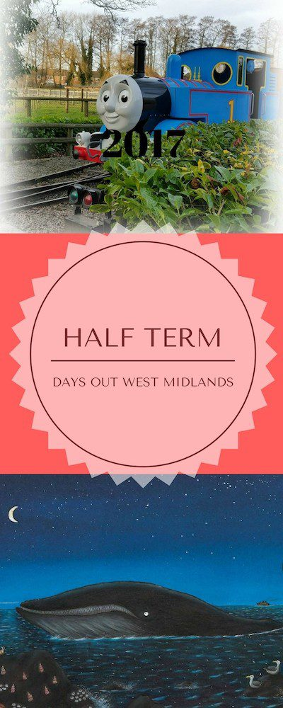 Are you looking for February half term activities in the West Midlands? Here is a list of ten days out for the whole family. These are located throughout the West Midlands region in the UK and all are available during the February 2017 half term. Listed on Plutonium Sox blog, specialising in family life, travel and days out.