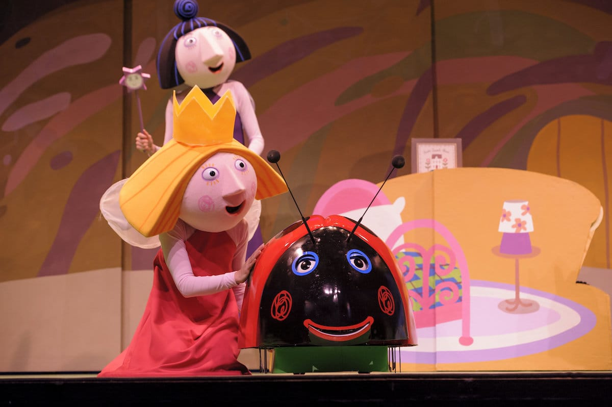 Ben and Holly's Little Kingdom live is a stage show based on the critically acclaimed Ben and Holly children's television series. Pre-school aged children and children within the younger years of primary school will love this production. It is a great introduction to theatre.