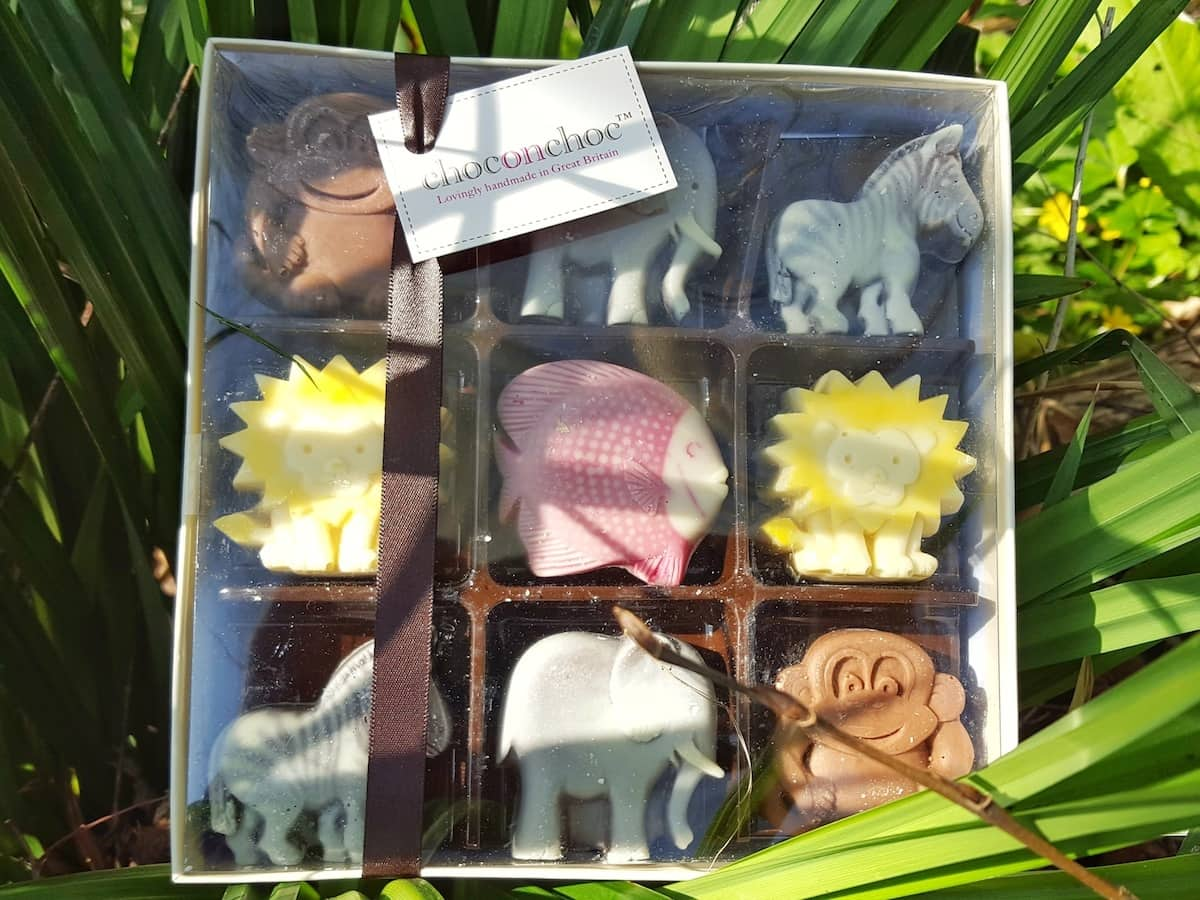 An Easter chocolate hunt with alternative Easter chocolate gifts from prezzybox