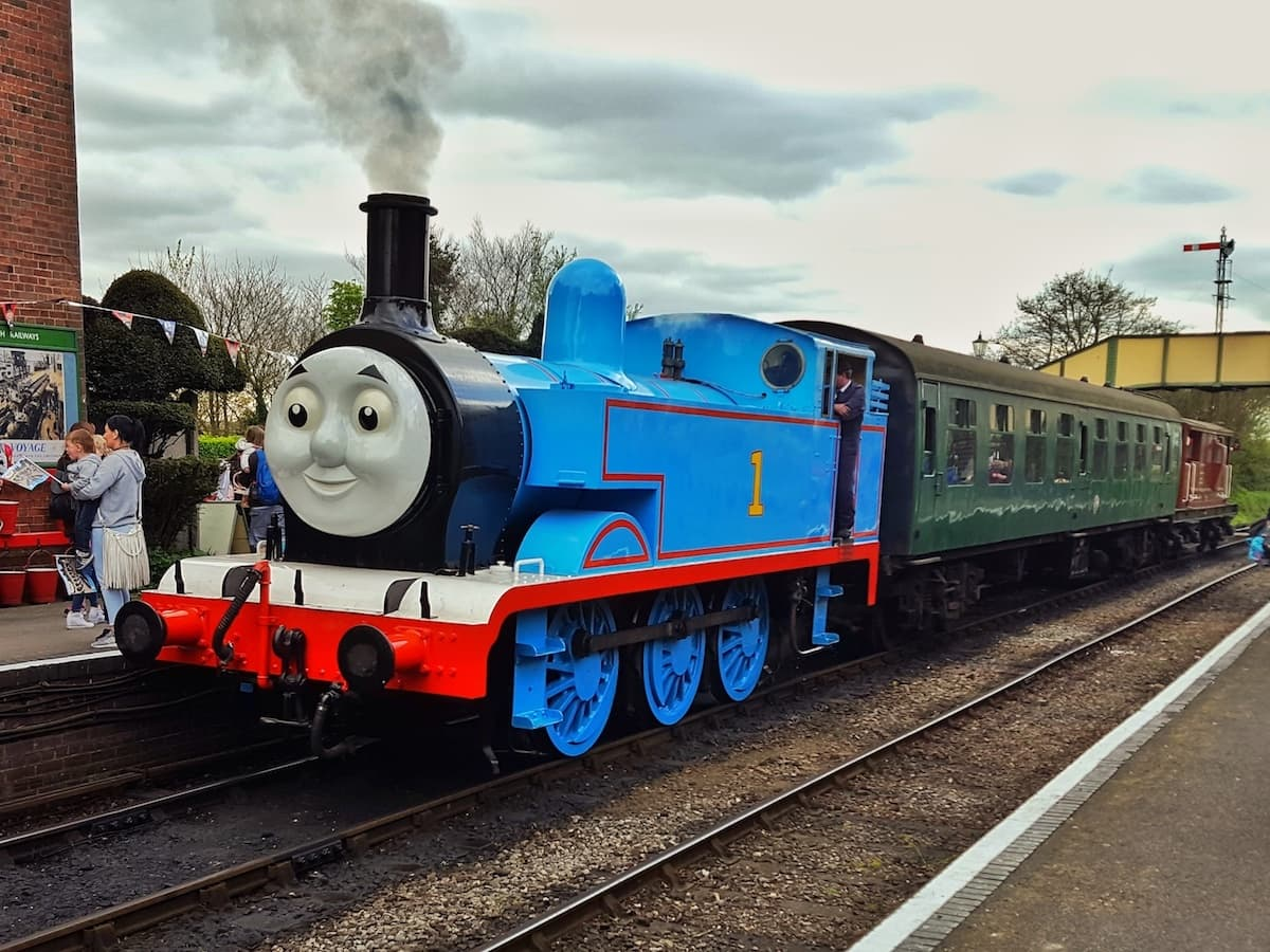 Mid Hants Railway Watercress Line Day Out With Thomas