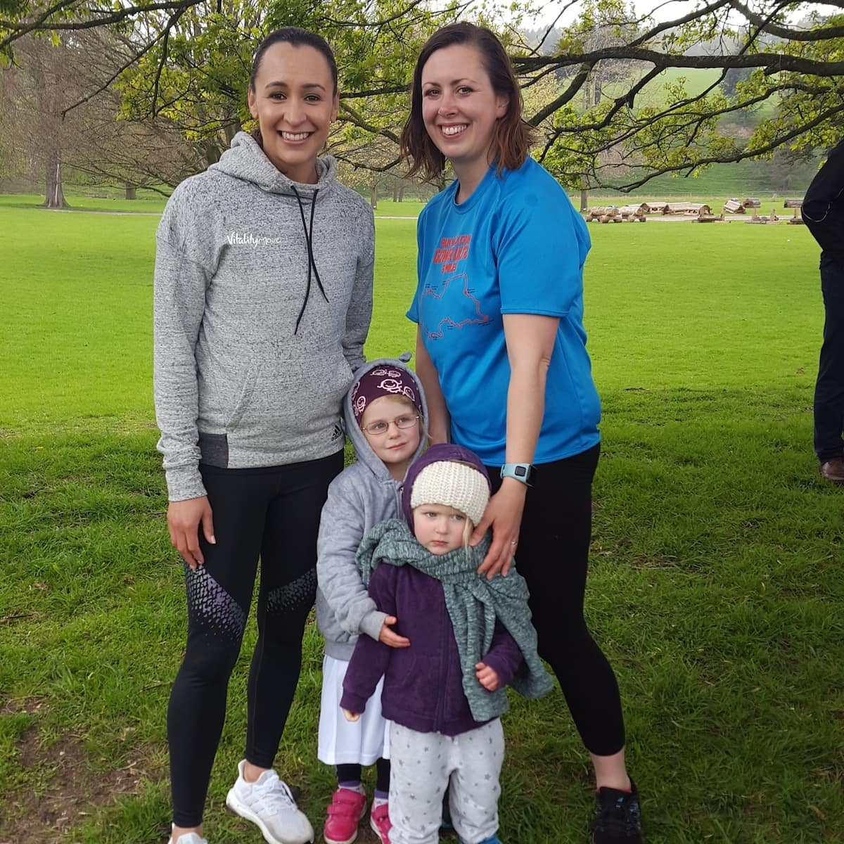 Thursday photo 155, the day we ran with Dame Jessica Ennis-Hill