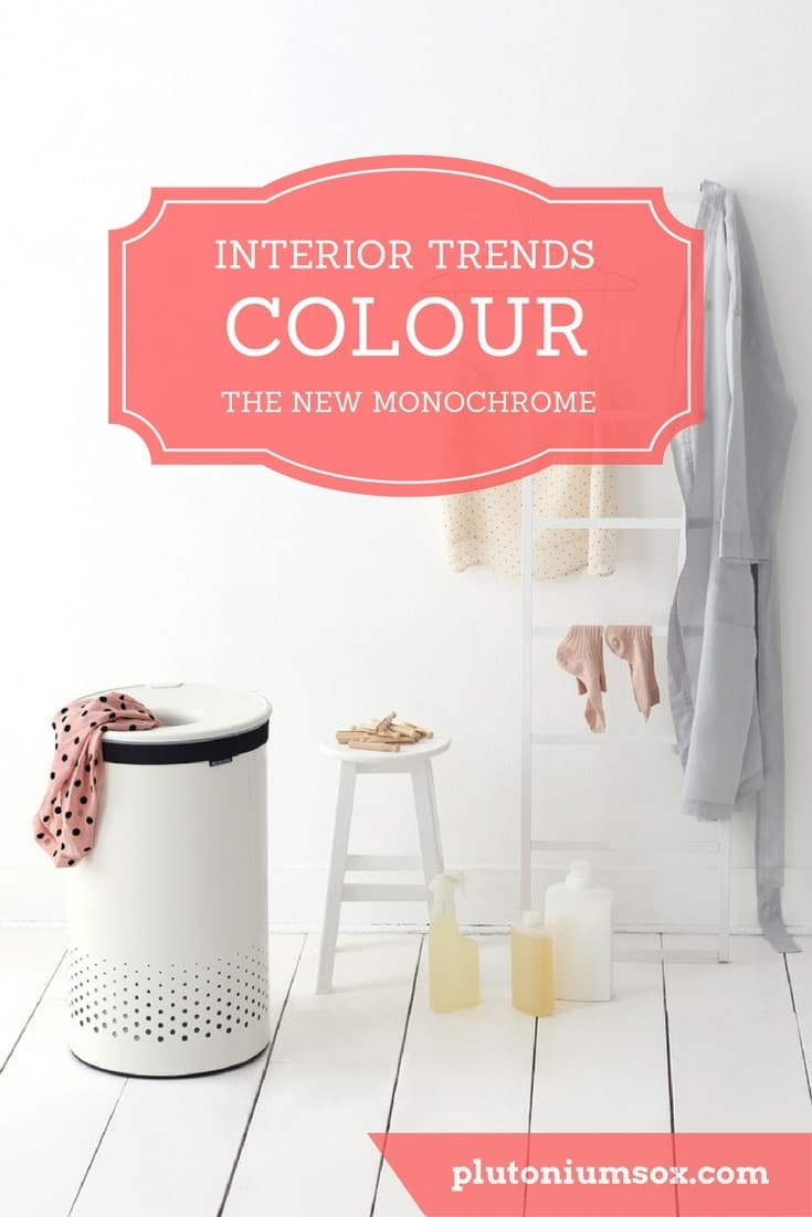 Interior trends | So you want to keep up with the latest interior trends? Step aside monochrome, colour is making a comeback. See why the latest home furnishings are introducing a splash of colour back into homes. Stylish interiors have never looked so cheerful. Well not since monochrome first reared its ugly head anyway.
