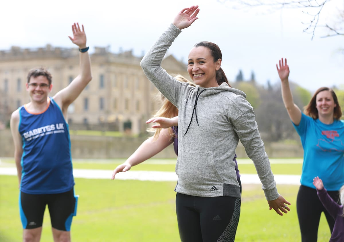 The day we went for a run with Dame Jessica Ennis-Hill. A training day involving running, HIIT fitness and a chat about heptathlon, sport in general and the amazing VitalityMove fitness and running festival taking place in Chatsworth and Windsor in July and September respectively.