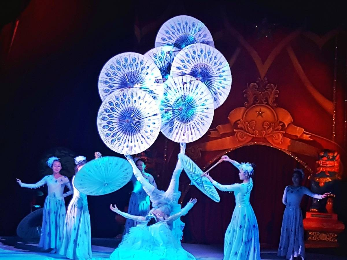 A breathtaking evening at the Chinese State Circus