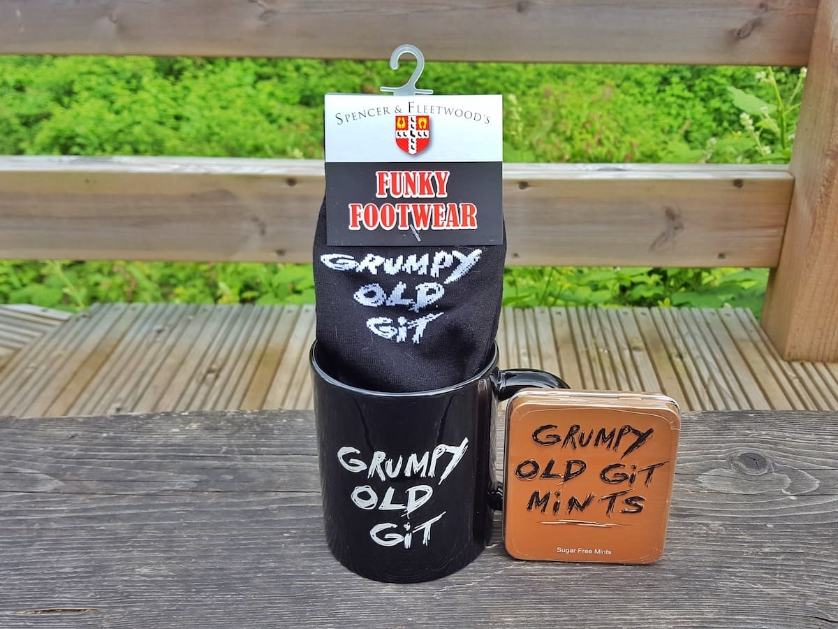 A Fathers Day gift for a grumpy old git