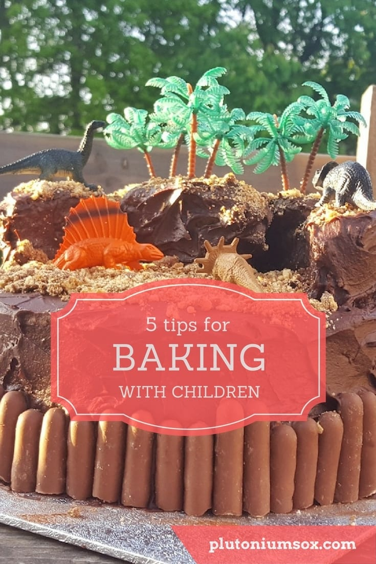 Some people seem to genuinely love baking with children. Unfortunately, I'm not one of them. But with two small people who love to be in the kitchen, I've had to find ways of coping. So here are my five top tips for stress free baking with children.