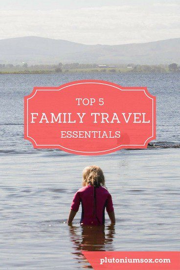 Family Travel | So you're going on holiday as a family with children. What do you need to take with you - what are the must-have travel essentials for holidaying with kids? Here are my top five - and the story behind why I need them! What do you take on holiday with you that's essential when travelling with kids?