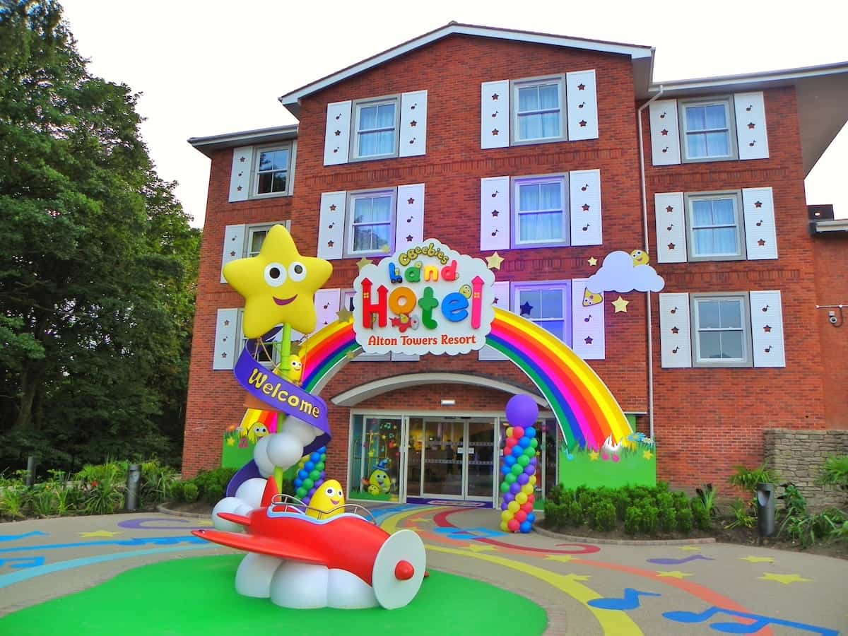 16 tips for visiting Alton Towers cBeebies Resort and water park with young children