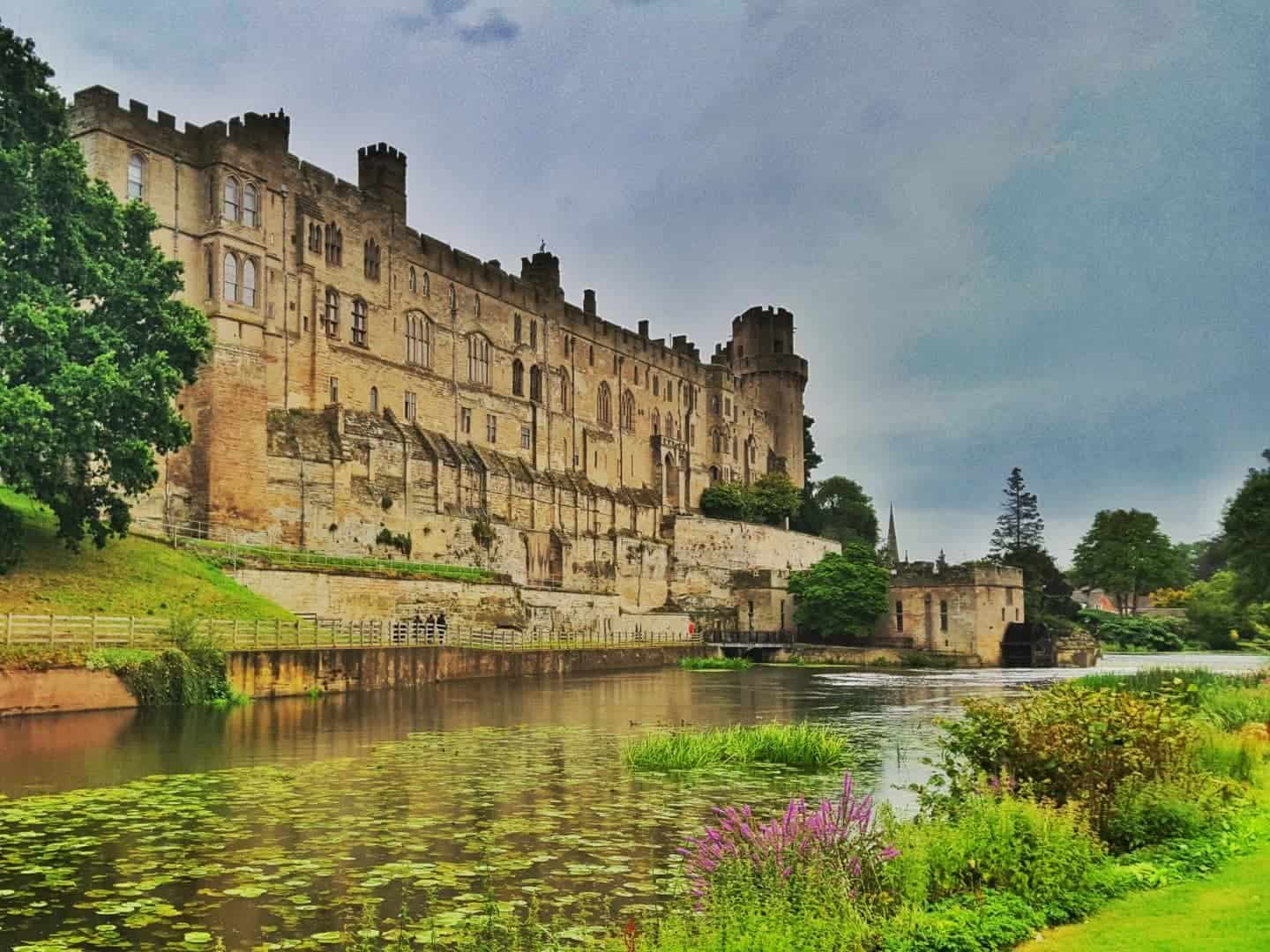 Warwick Castle, Warwickshire UK - rainy days out West Midlands