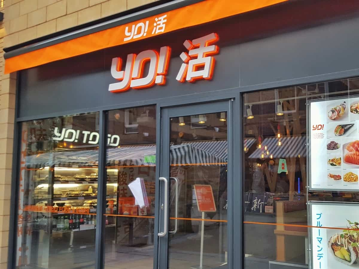 YO! Sushi Japanese sushi and street food restaurant Worcester - review
