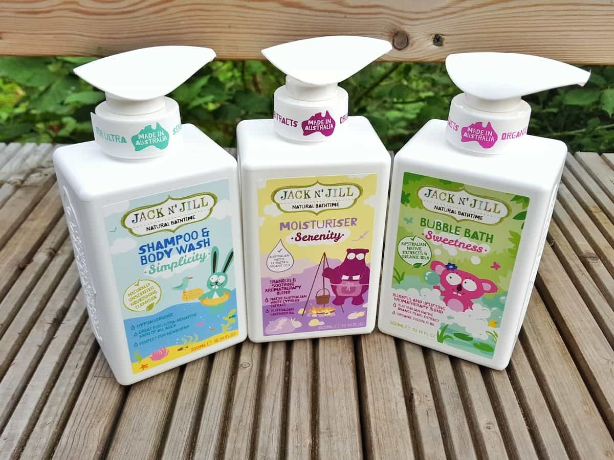 Win an eco friendly bath time hamper from Jack and Jill Kids