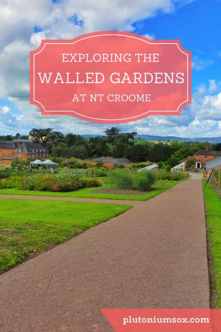 The Walled Gardens at Croome National Trust in Worcestershire, West Midlands | Croome Walled Garden is the largest walled garden in Europe. It has a hot wall with furnaces, tunnels to explore, a pond and several wells. There are lawn games for children to play and for them, it is like exploring a secret garden. The walls give the garden a microclimate similar to that in the Loire Valley. This is a fascinating example of a historical garden that is a real adventure for the whole family.