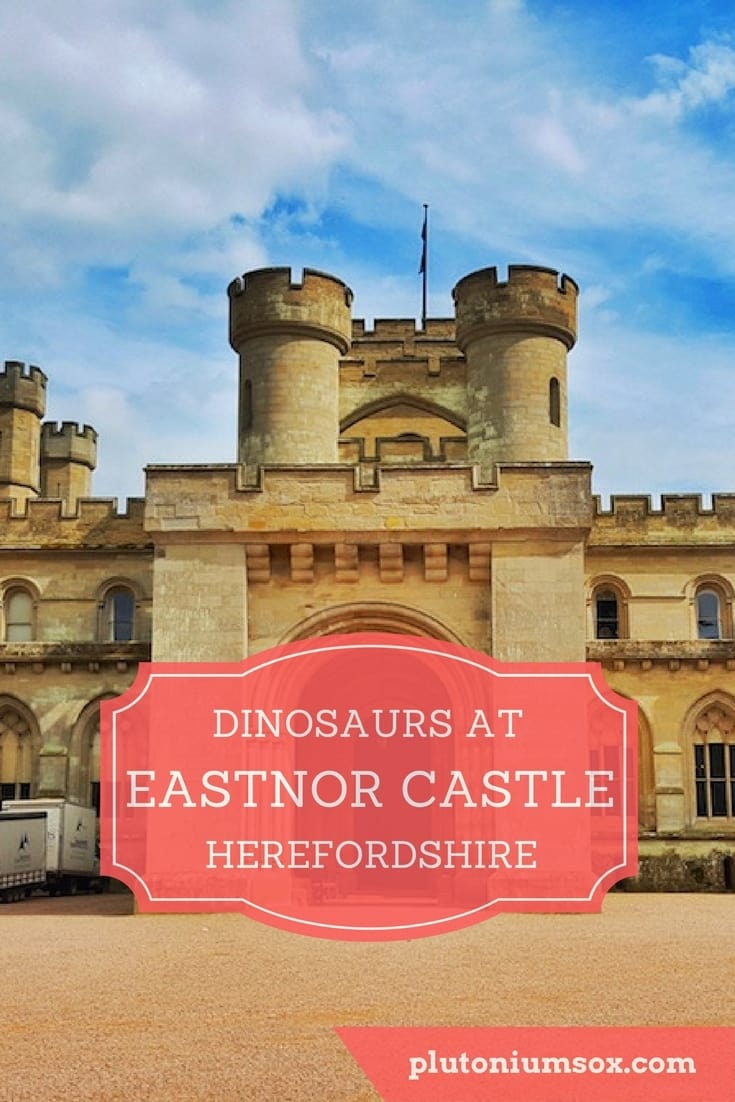 Eastnor Castle, Herefordshire UK | Eastnor is both family friendly and dog friendly. Perhaps contrary to expectations of a castle, there is plenty of scope for outdoor play and adventure. With playgrounds, a maze, an obstacle course, an arboretum and a lake. You can also look around inside the castle and dogs are allowed inside too! This week when we visited, there was a dinosaur show happening and there are always different shows and events going on in the Summer season.