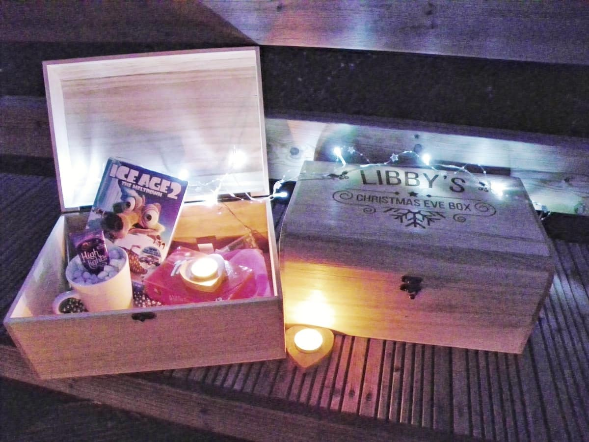 Win a personalised Christmas eve box from prezzybox