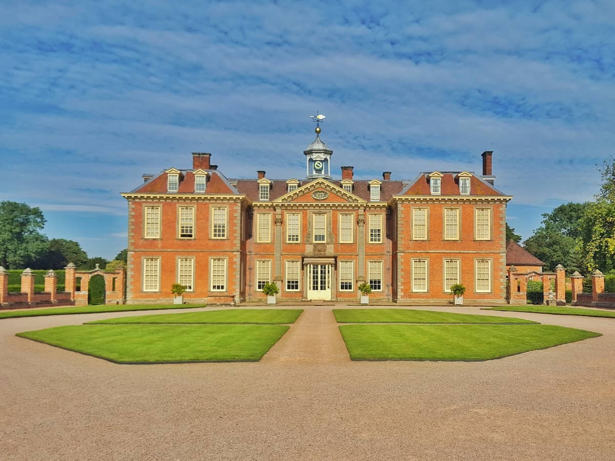 Hanbury Hall near Droitwich, West Midlands