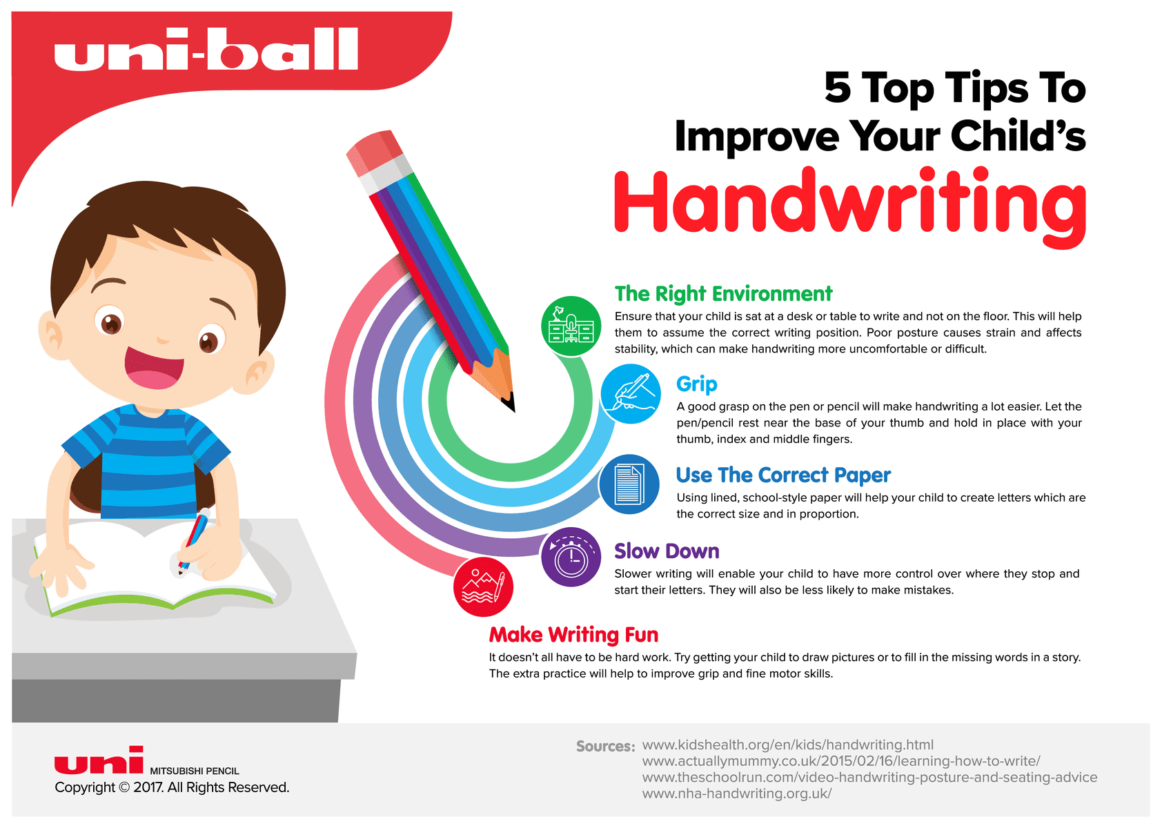 Handwriting | Does your child struggle with handwriting and do you think it is as important for children today who are living in a digital age? Find out why handwriting is important and get some great tips and worksheets to help them to improve their writing, whether they're just starting out or trying to improve their letter formation.