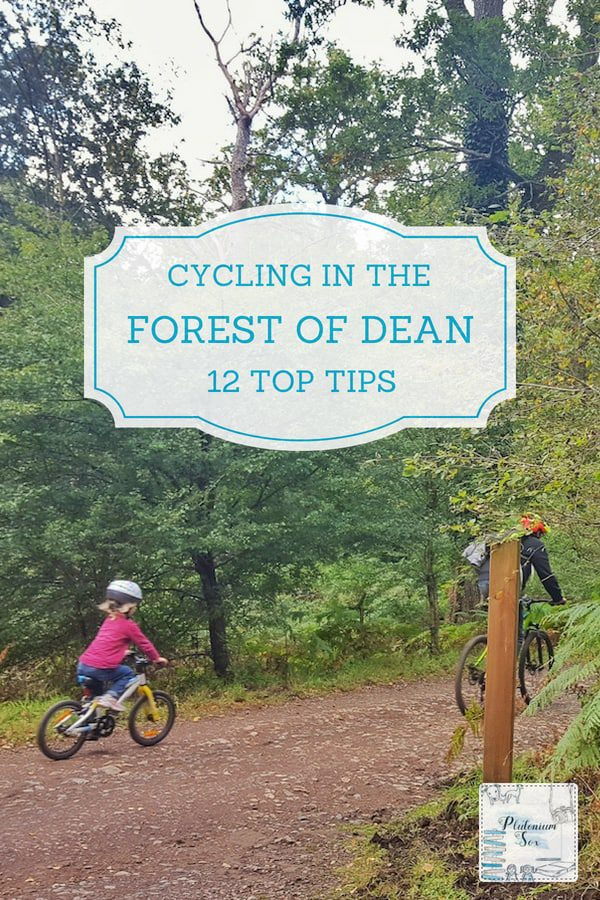 Cycling in the Forest of Dean | Located in Gloucestershire in the UK, the Forest of Dean is a beautiful area of forestry commission owned land and one of the best places in the UK to go cycling. Whether you enjoy mountain biking, downhill cycling, road cycling or just a leisurely bike ride with the family, there will be a cycle trail for you in the Forest of Dean. There are lots of other activities available in the area too including walking, climbing, caving, kayaking and open water swimming to name but a few. #cycling #mountainbiking #forestofdean #uktravel #gloucestershire
